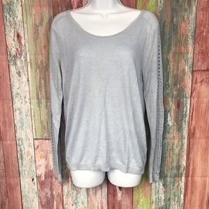 Loft light weight light baby blue sweater